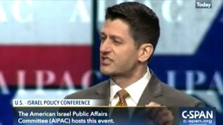 IRAN MUST BE DESTROYED! ALL HAIL ISRAEL! PAUL RYAN 2017 AIPAC SPEECH