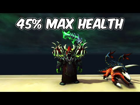 45 Percent Max Health Bonus - Affliction Warlock PvP - WoW BFA 8.1.5