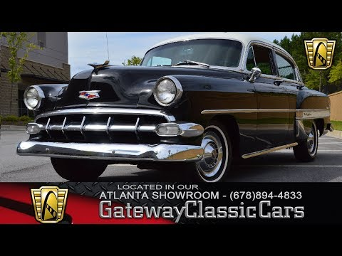 1954 Chevrolet Bel Air, Gateway Classic Cars, Atlanta #863