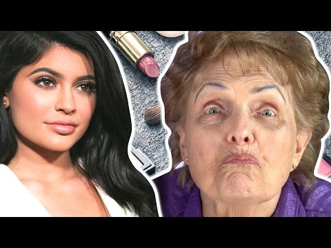 Grandmas Get Kylie Jenner Makeovers