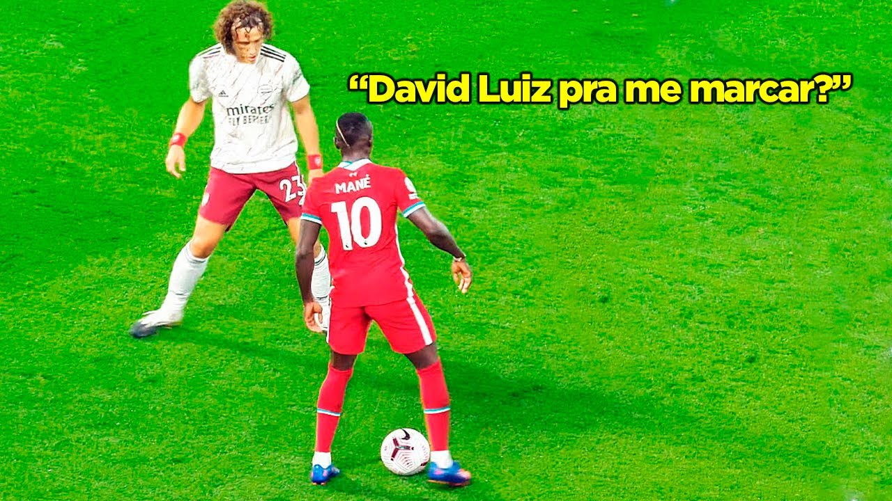 COITADO DO DAVID LUIZ!!! 19 VEZES QUE O MANÉ PROVOU SER UM DOS MELHORES JOGADORES DO MUNDO!!!