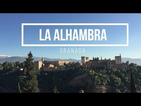 ESPAÑA   Qué ver en GRANADA 🗺️  - La Alhambra