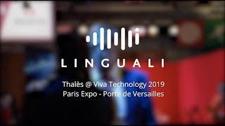 Linguali for Thales @ VivaTech 2019