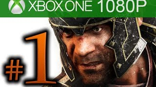 Ryse Son of Rome Walkthrough Part 1 [1080p HD Xbox ONE] - First 90 Minutes! - No Commentary