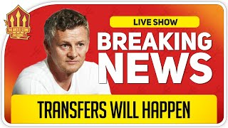 Solskjaer Optimisic on Transfers! Man Utd News