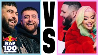 Katja Krasavice & Fler VS Summer Cem & KC Rebell | Rap Duell #12 | Red Bull Rap Einhundert