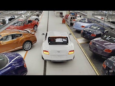 Bentley Continental GT Production