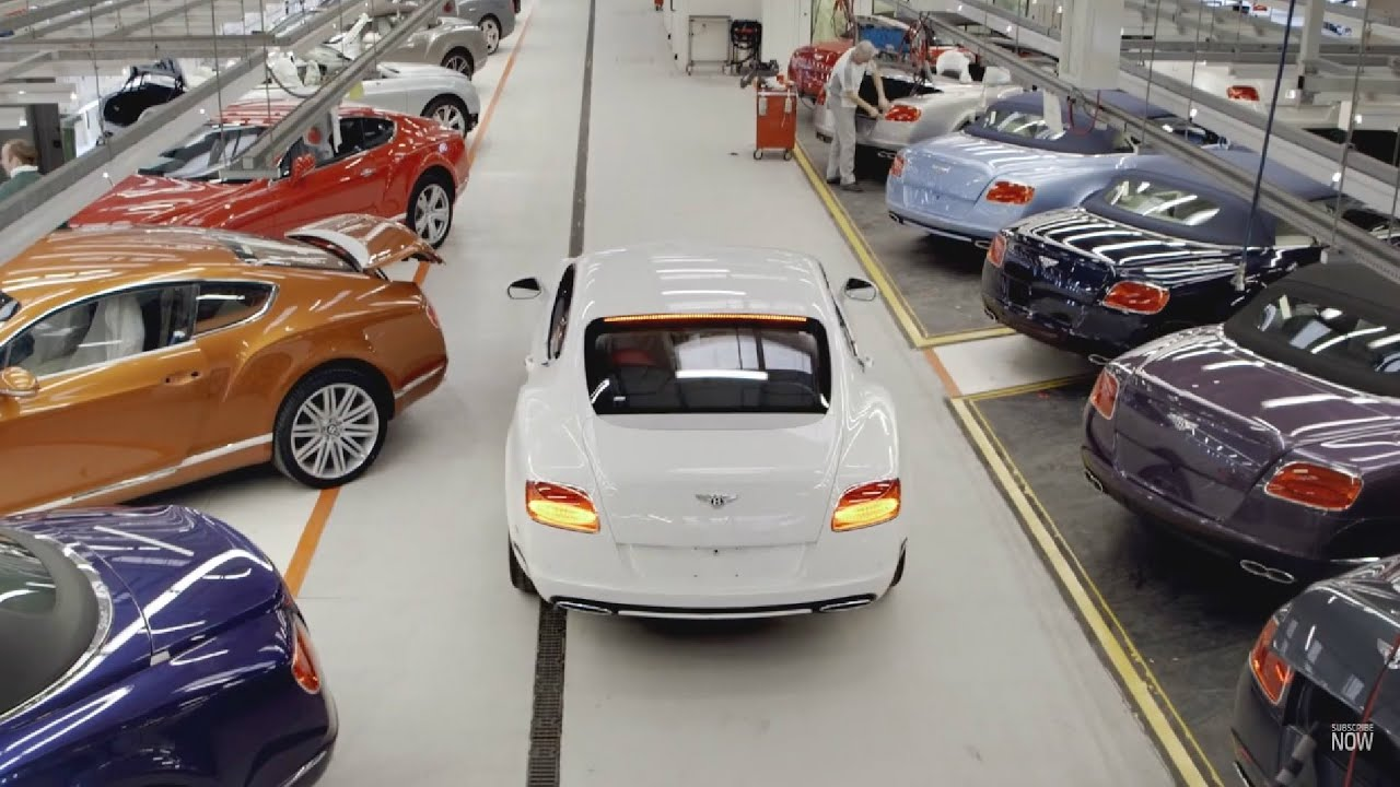 Where are bentley cars manufactured