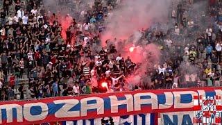 Hajduk : Zagreb - 23.5.2015. - Bakljada na Poljudu 1080p HD!