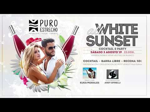 """ALL WHITE SUNSET "" en Puro Estrecho"