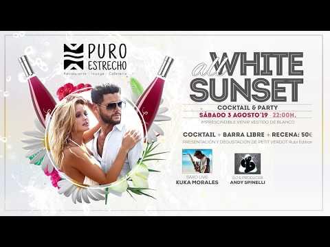 """ALL WHITE SUNSET "" en Puro Estrecho"