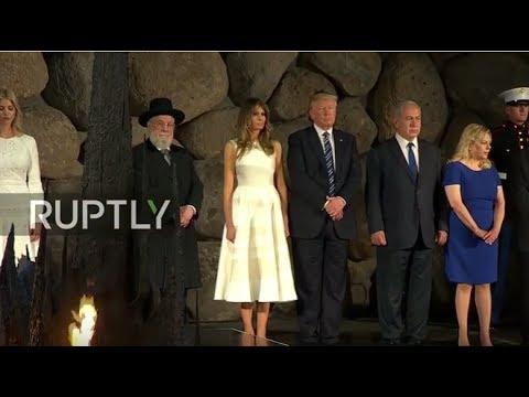 LIVE: Trump participates in memorial ceremony at Yad Vashem
