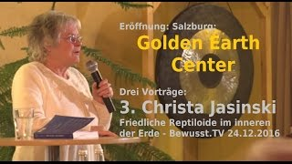 Christa Jasinski Vortrag - friedliche Repto Zivilisation