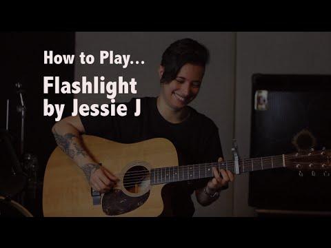 How to play Flashlight (Jessie J) on guitar - Jen Trani