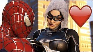 Spider Man Meets His Love Black Cat In Sam Raimi Suit