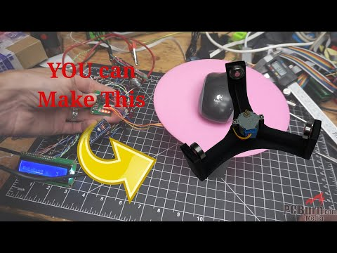 YOUR Photo Or Video Table (DIY Motorized Turntable For Scanning Or Video)