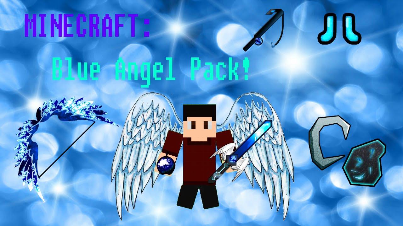 Minecraft: PvP Texture Pack - Blue Angel! [1.7/1.8 ...