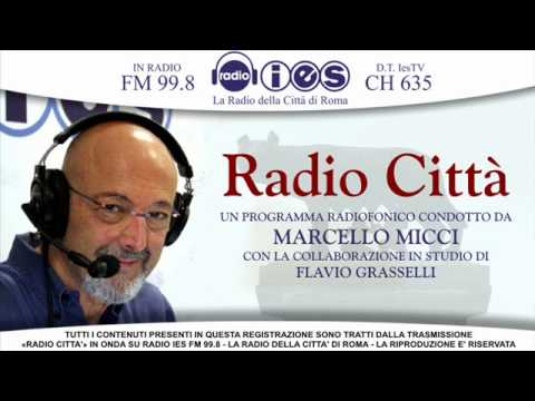 PROF. GIAMPIERO GAMALERI (DOCENTE DI SOCIOLOGIA UNIVERSITA' ROMA 3) RADIO IES RADIO CITTA'