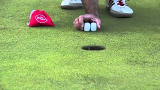 The Pill Golf Putting Training Aid - Starting Out