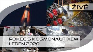 ŽIVĚ: Pokec s Kosmonautixem (leden 2020)