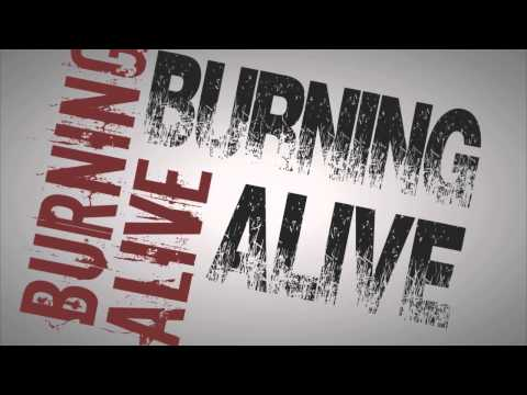 20Storiesfalling  ||  Burning Alive Lyric Video by Chad Richards