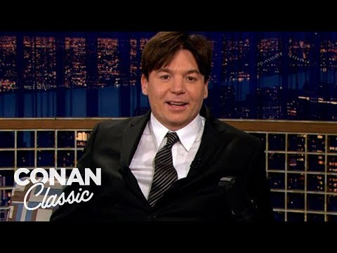 "Mike Myers Fell In Love With His TV Mom Gilda Radner - ""Late Night With Conan O'Brien"""