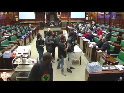 BLF vs EFF (Shivambu) At Land Review Committee - WATCH IT ALL