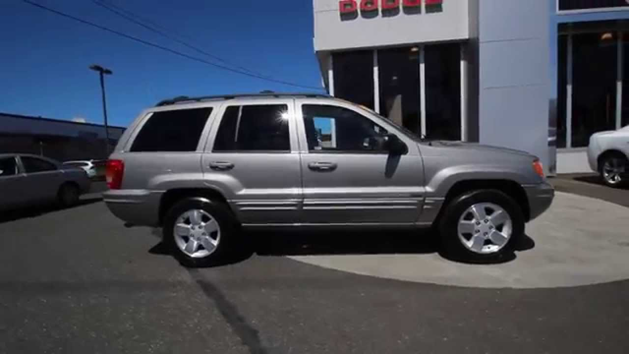 2001 jeep grand cherokee limited | silverstone metallic | 1c616581