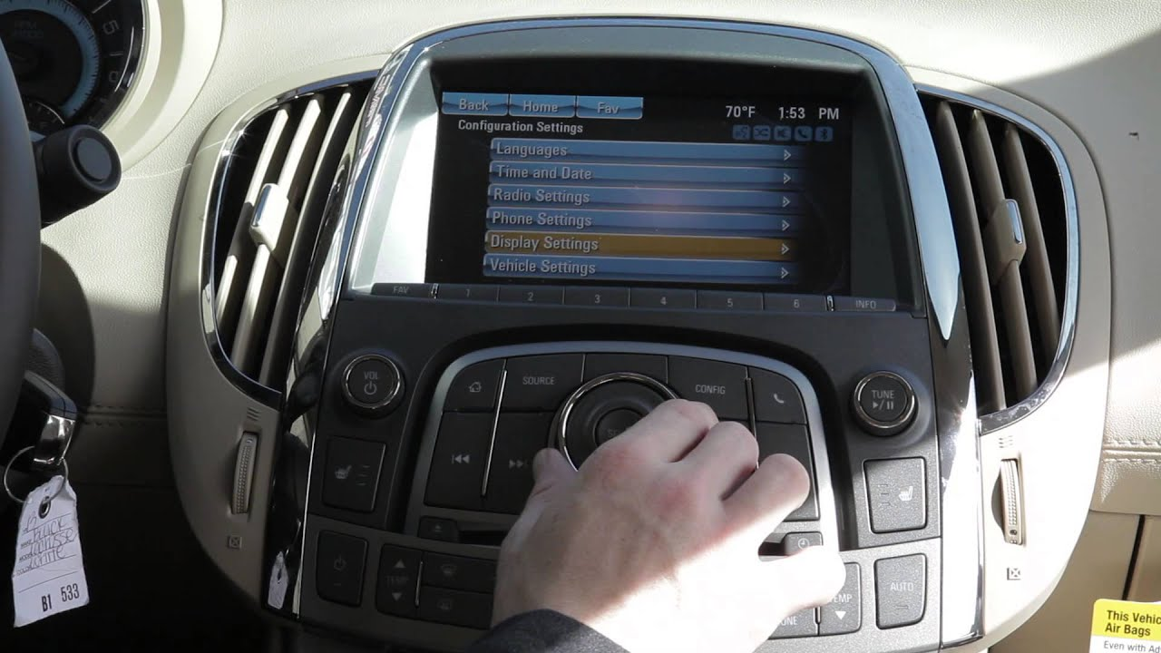 How to pair your phone Bluetooth 2012 Buick Lacrosse