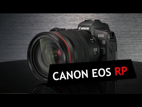 Обзор Canon EOS RP!  Новая ФФ беззеркалка начального уровня