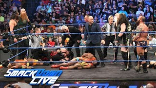"Team Hell No ambushed on ""Miz TV"": SmackDown LIVE, July 10, 2018"