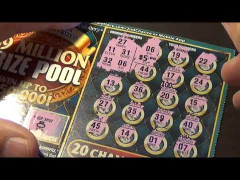 Lottery Scratch Off Tickets From Nevada Arcade Channel & Yoshi