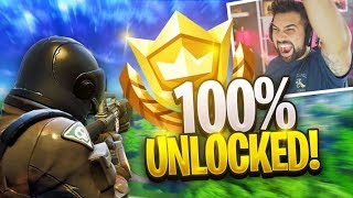 UNLOCKING ALL REWARDS in SEASON 3 *LEVEL 100 GAMEPLAY* - Fortnite: Battle Royale