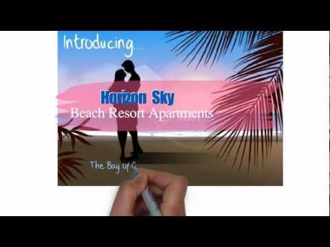 horizon sky Apartments beach resort. Gulluk,Turkey.