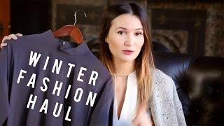 Winter Fashion Haul / ttsandra thumbnail