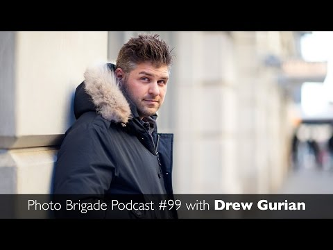 Drew Gurian - Music & Celebrity Photographer - Photo Brigade Podcast #99
