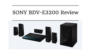 Sony BDV E3200 review | 5.1ch Blu ray Home Theatre | Bluetooth NFC wifi DLNA