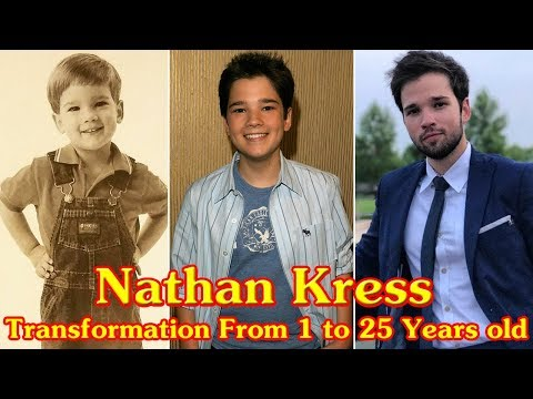 Nathan Kress Transformation From 1 To 25 Years Old
