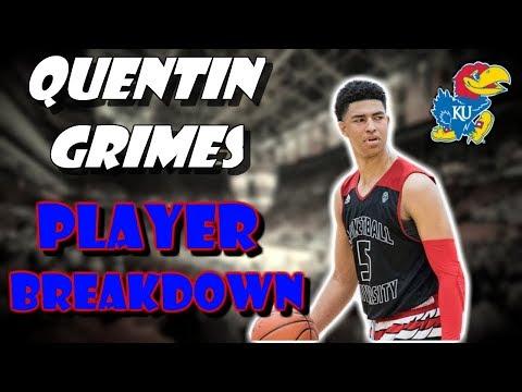 The Best Guard Prospect In College Basketball?! | Quentin Grimes Pre-Season Breakdown