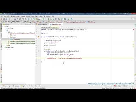 Upload Image in Android to  RESTful Web Services Retrofit 2 - Android Studio Tutorial for Beginners