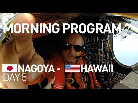 LIVE: Solar Impulse Airplane - Day 5 - Energy Neutral Mornin