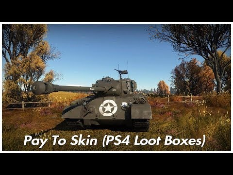 War Thunder Pay To Skin Ps4 Loot Boxes Youtube