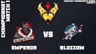 Gold League Championship #2 - Emperor vs Blossom - Match 1
