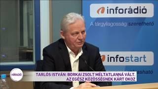 Tarlós István: Borkai Zsolt méltatlanná vált, az egész közösségnek kárt okoz