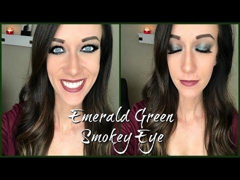 Emerald Green Smokey Eye