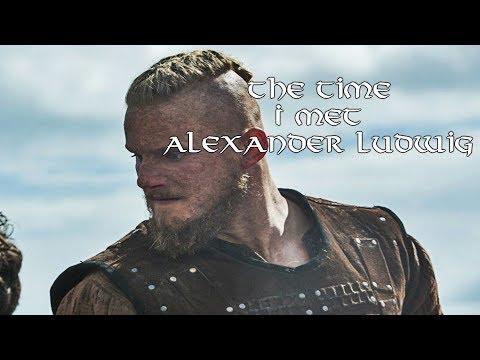 The Time I Met Vikings-Star Alexander Ludwig (Bjorn Ironside) | Vikinger
