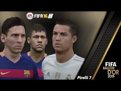 FIFA 16: Ballon D'Or 2015 - Epic Video - Messi/Ronaldo/Neymar - Pirelli7
