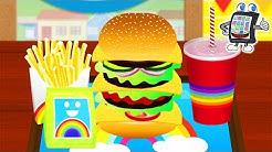 BAMBA BURGER App für Kinder Deutsch - BURGER SELBER MACHEN - Spiel für Android & iOS