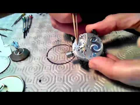 Elgin Pocketwatch Disassembly