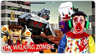 The Walking Zombie Dead City ZUMBI PALHAO E CHEFO GIGANTE 3 PT BR